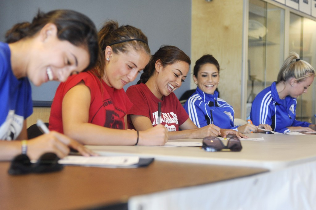 SCC Women's Soccer Signing